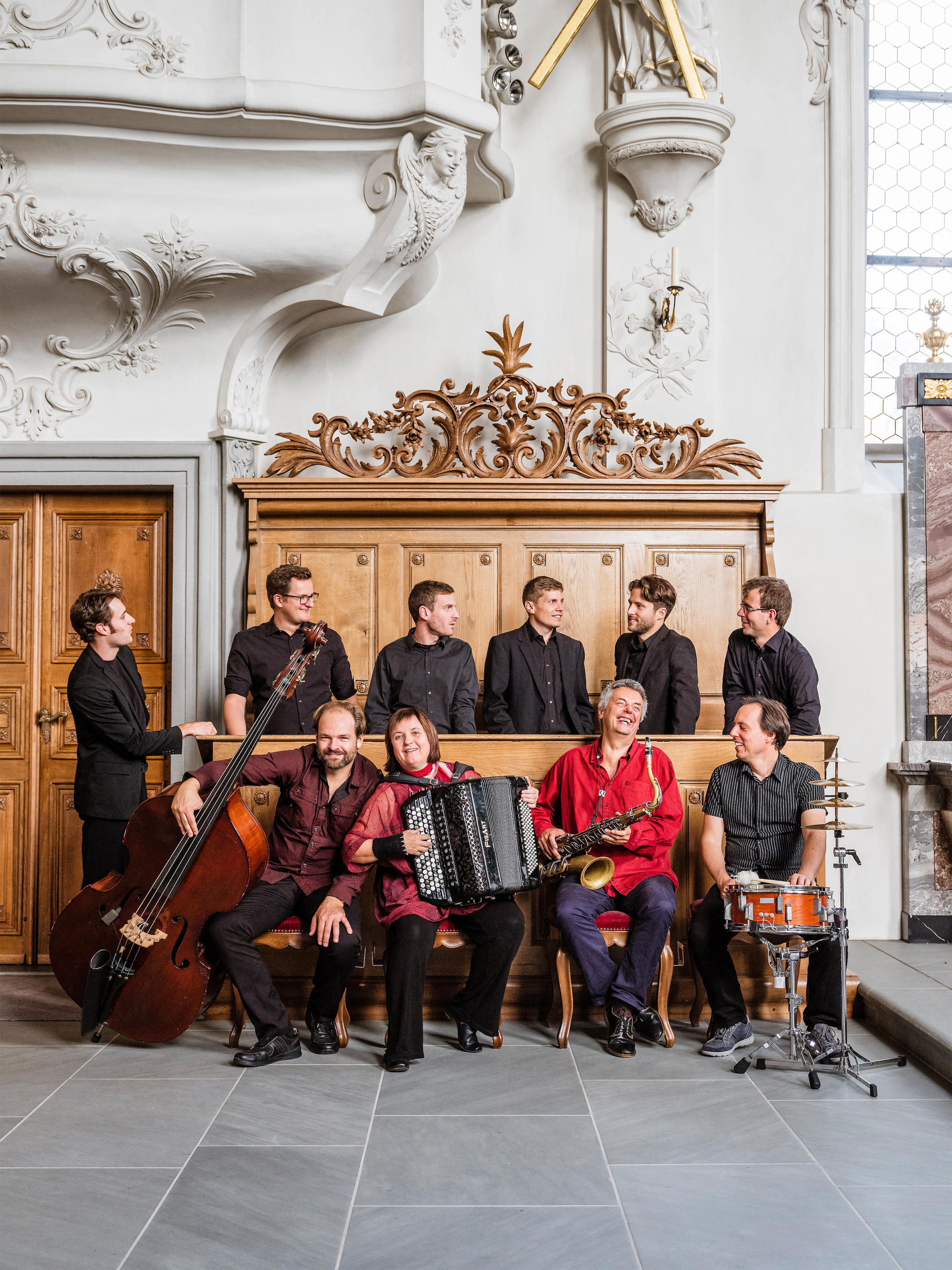 Albin Brun Quartett & Vocabular Kirche Ruswil