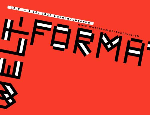 Weltformat 20 – Graphic Design Festival Lucerne